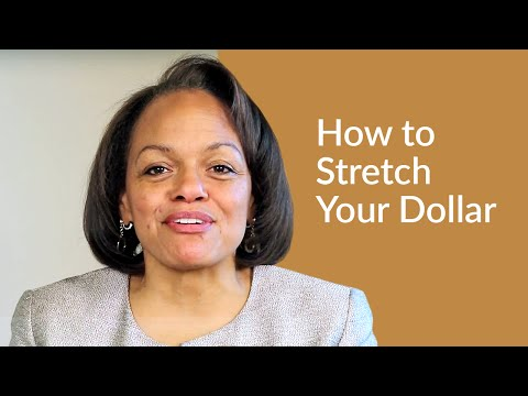 How To Stretch Your Dollar