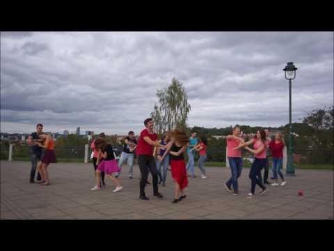 Zouk Flashmob Vilnius 2016-09-17