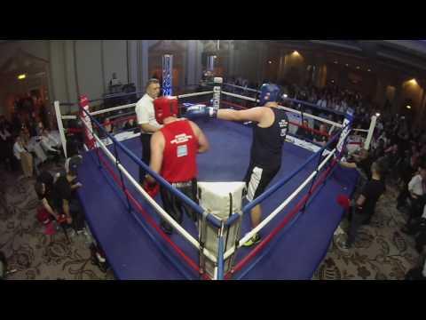 Ultra White Collar Boxing Brighton | Peter Taylor VS Rob Boxall