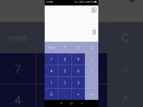 How To Open Hidden Calculator Vault App Youtube