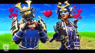 HIME FALLS IN LOVE! *NEW SKINS* - A Fortnite Short Film