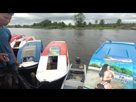 essequibo,-pomeroon-river-speed-boats,-charity,-supenaam-guyana