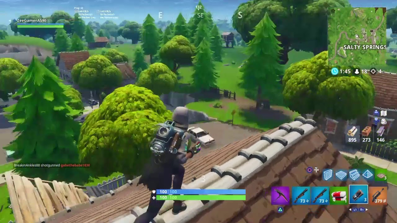 memer plays fortnite match with memers in the background youtube