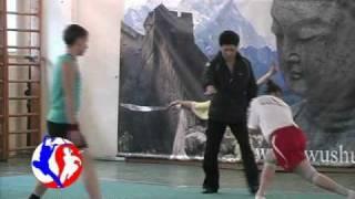 Wushu Training by Liu Tong Wei (part2)