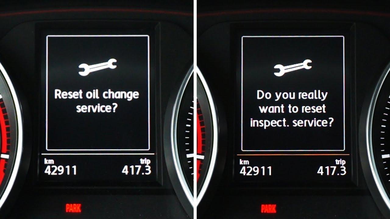 Mk7 Golf R >> Volkswagen Golf MK7 reset inspection & oil service ...