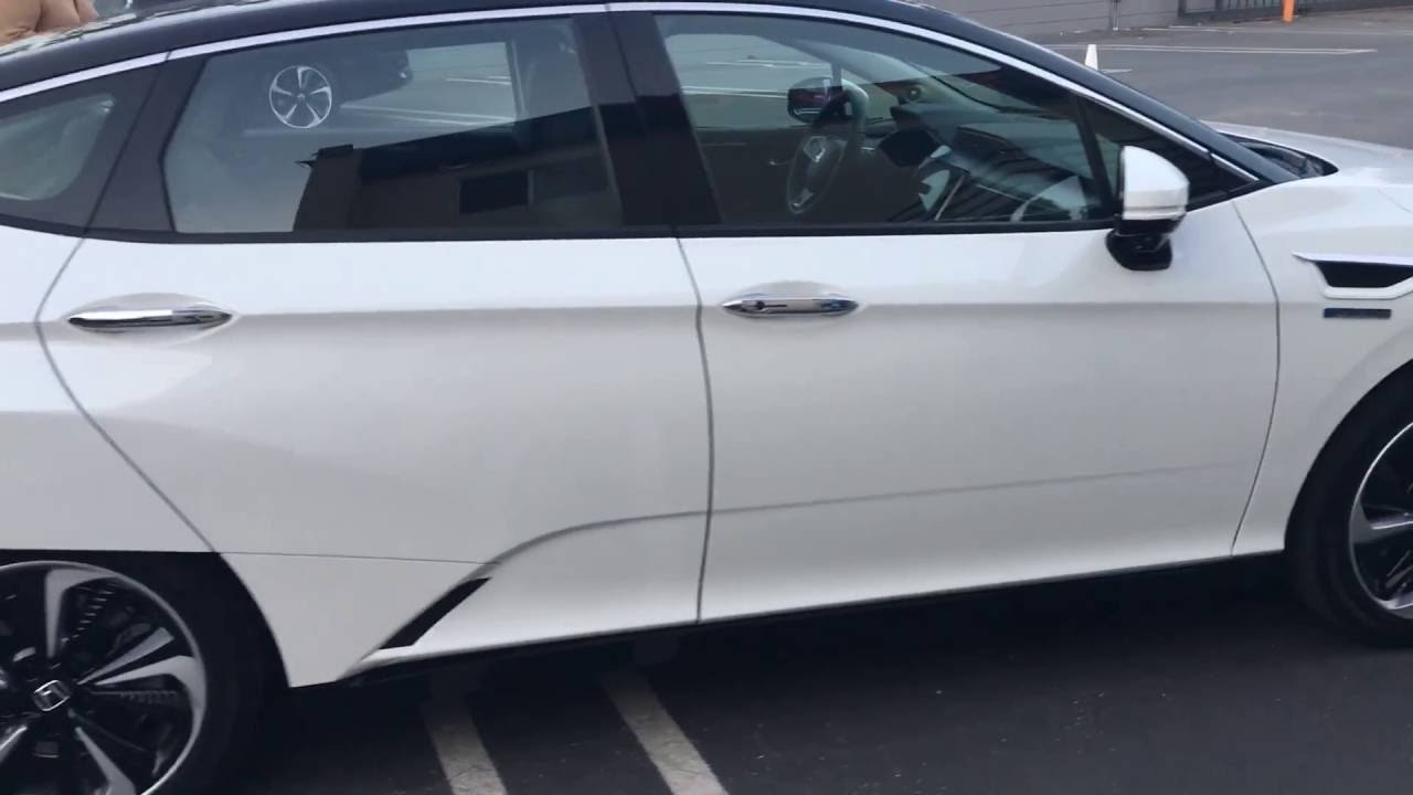 2017 Honda Clarity Fuel Cell The 3 Colors