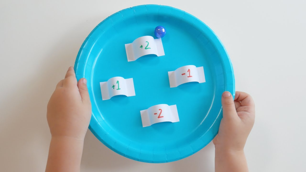 DIY Simple Number Game With Paper Plates & DIY Simple Number Game With Paper Plates - YouTube