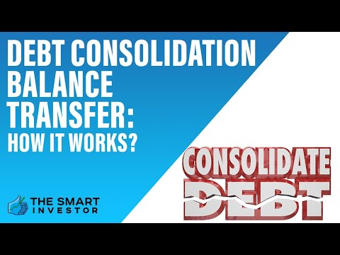 Credit Card Balance Transfer For Debt Consolidation