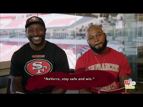 NaVorro Bowman, Antoine Bethea Get Pep Talks from Young Fans | San Francisco 49ers| NFL