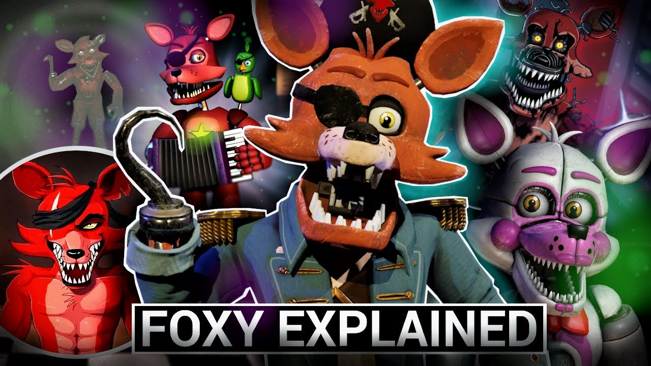 Download FNAF Animatronics Explained - FOXY (Five Nights at Freddy's Facts)