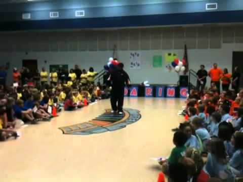 Trooper Taylor Speaks to Dean Road Elementary School