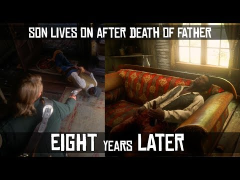 What Happens When John Revisits The Son Of The Father Arthur Killed 8 Years Ago? (Nate Davison) RDR2