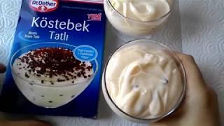 Köstebek Tatlı. Что привезти из Турции. Шоколадно-банановый десерт.