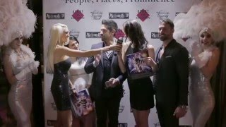 Celebrity Host Tiffinie Tee Calendar Launch Platinum Air