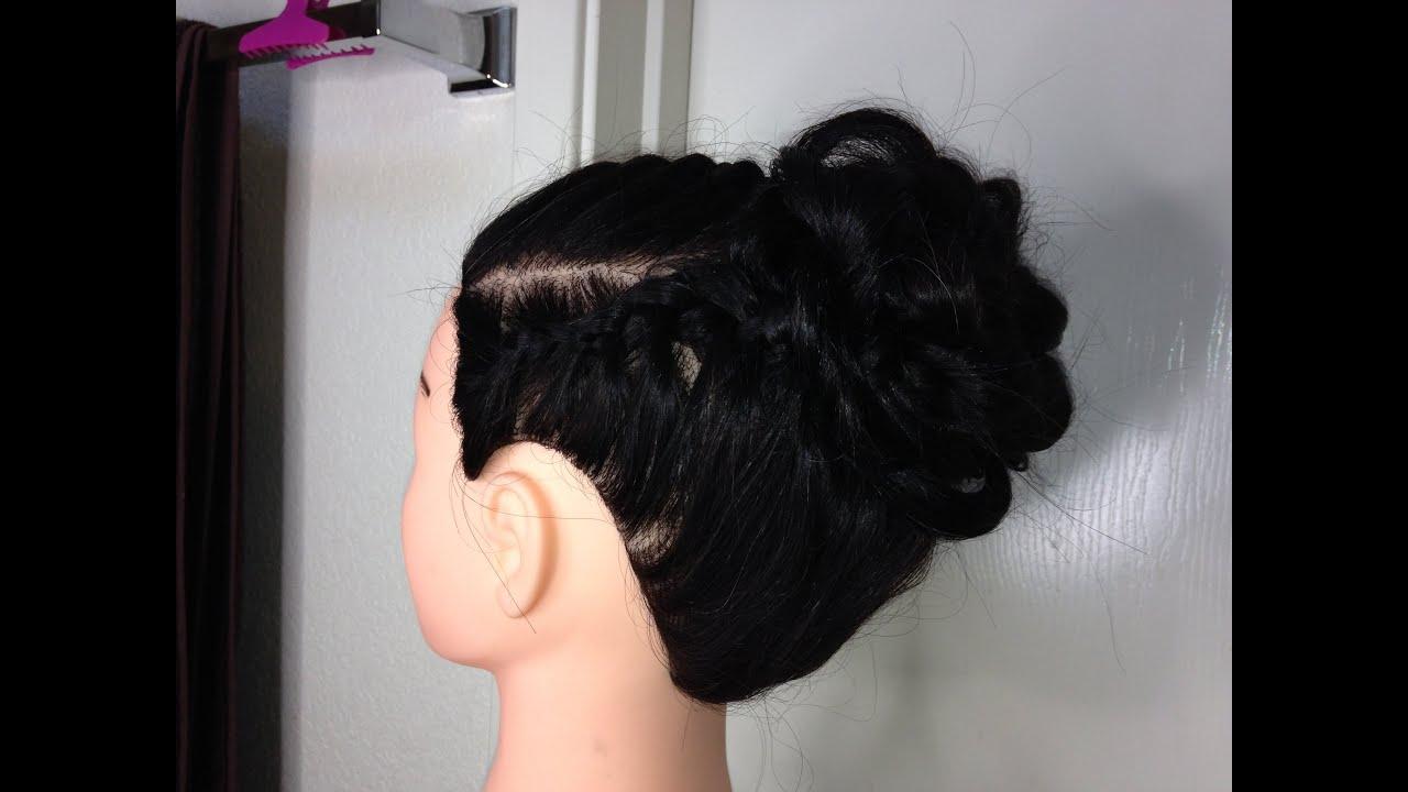 Peinado Para Primera Comunion Nina Youtube - Peinados-para-comunion-de-nia