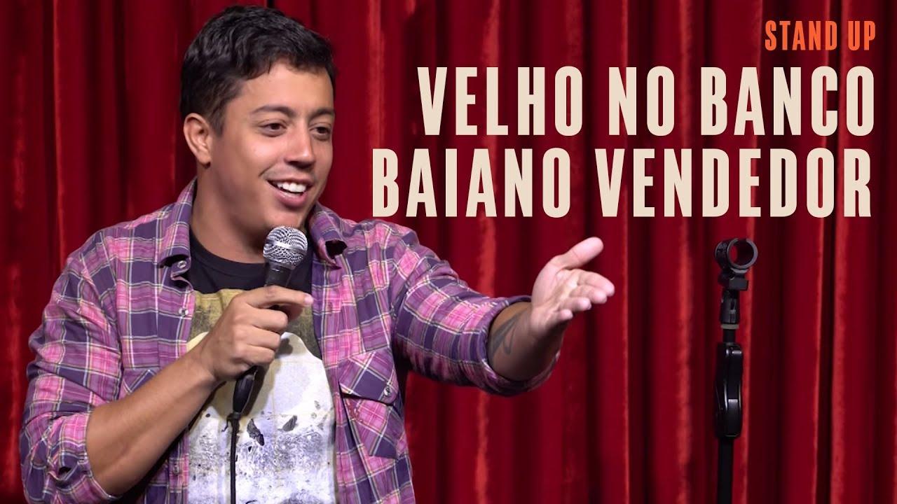 Renato Albani - Velho no banco/Baiano Vendedor