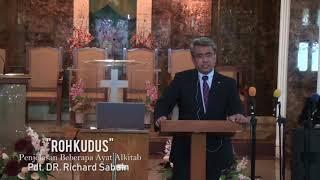'Roh Kudus' Penjelasan Beberapa Ayat Alkitab   Pdt  Richard Sabuin