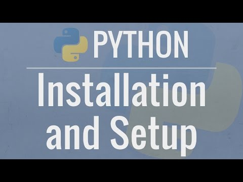 Python Tutorial for Beginners 1: Install and Setup for Mac and
