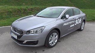 [PL] 2015 Peugeot 508 2.0 HDi Test PL / Prezentacja / Walkaround
