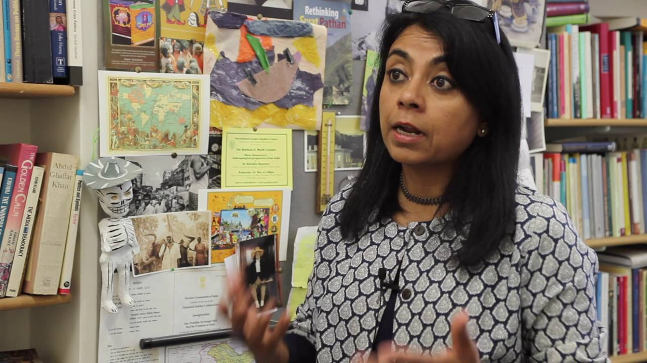 Download Dr Mukulika Banerjee - South Asia Centre & Department of Anthropology
