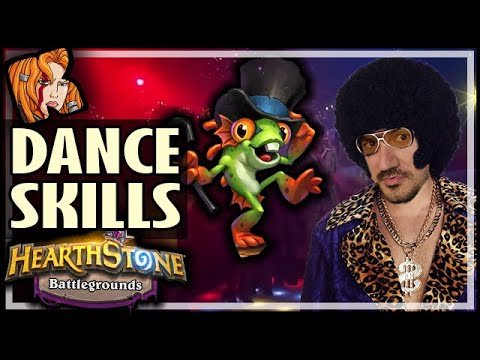 PURE DANCE SKILLS! No Build At All?! - Hearthstone Battlegrounds