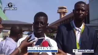 Abdoul Razak Issoufou, vice champion olympique de Taekwondo à Dakar