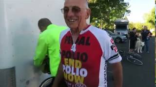 Pedal For Polio Redux, Day 4, Napa to Middletown with drone footage
