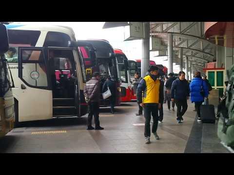 SEOUL  EXPRESS BUS TERMINAL (Largest Bus Terminal in South Korea)