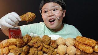 60계치킨 마늘이 듬뿍~  호랑이치킨 | 멘보샤| 콘 …