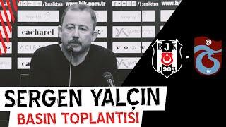 Trabzonspor Maçı Sonrası Teknik Direktörümüz Sergen Yalçın'ın Basın Toplantısı