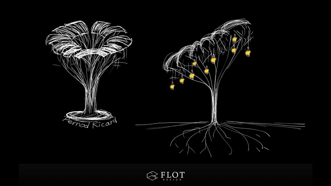 平安樹 裝置藝術 - YouTube