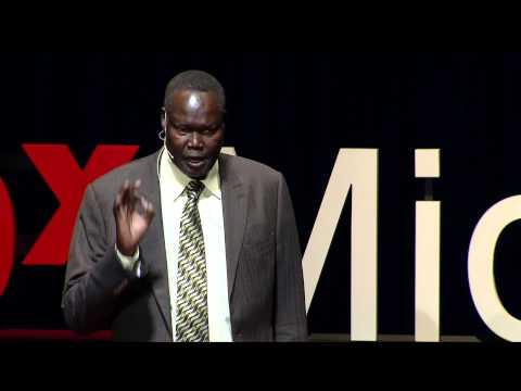 Birth of a nation: The story of South Sudan | Ambassador Akec Khoc | TEDxMidAtlantic