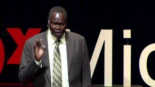 Birth of a nation: The story of South Sudan   Ambassador Akec Khoc   TEDxMidAtlantic