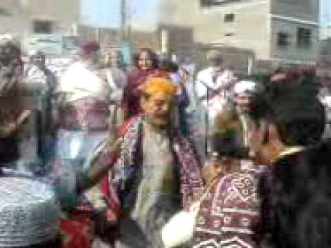 Sindhi Topi and Ajrak Rally - Cultural Day - khairpur
