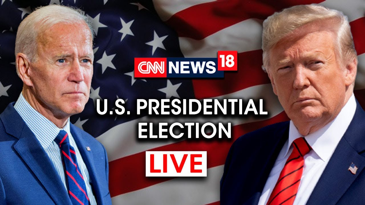 CNN News18 LIVE | USA Presidential Election 2020 LIVE Coverage |  Breaking News