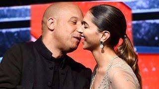 Vin Diesel Kisses Deepika Padukone At Xander Cage Press Conference
