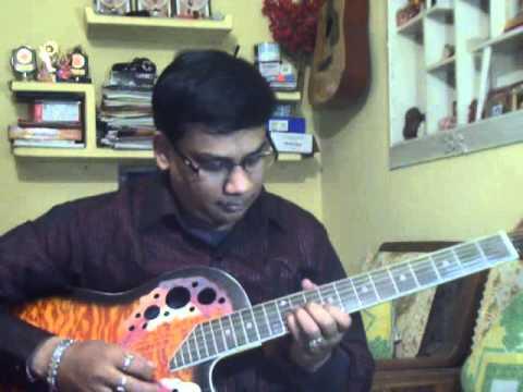 O mor maina go solo on guitar