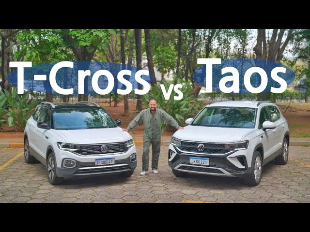 Taos X T-Cross: Comparamos os SUVs com motor 1.4 turbo da Volkswagen