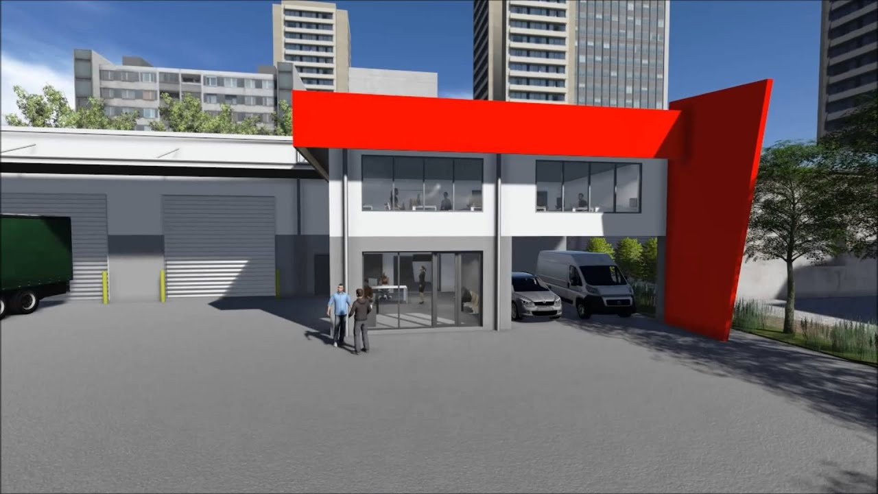 Warehouse Office Building Seventeen Mile Rocks Brisbane 3d Flyover Youtube