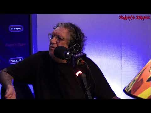 Perry Farrell Instudio on Jonesy's Jukebox