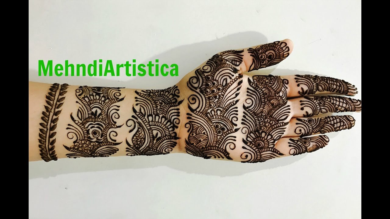 Latest mehndi designs 2016 2017 top 47 mehndi styles - Beautiful Bangle Style Mehndi Designs For Hands Easy Simple Bridal Engagement Henna Mehndiartistica