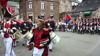 Saint-Roch 2014 - Départ de la Procession et Marche Militaire