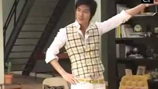 Lee Min Ho @Binggrae Banana Milk CF Making