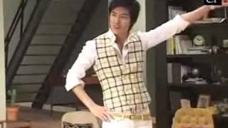 Lee Min Ho @Binggrae Banana Milk CF Making
