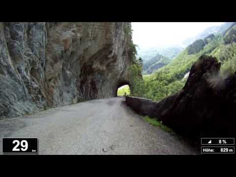 Indoor Cycling Training: Grimselpass (Suisse / Alps) - in full length!!! (Part 1/4)