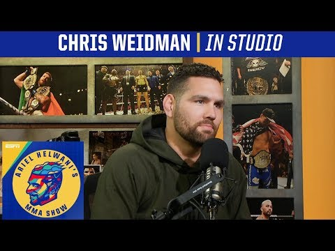Chris Weidman gets emotional describing fallout from UFC 230 loss | Ariel Helwani's MMA Show