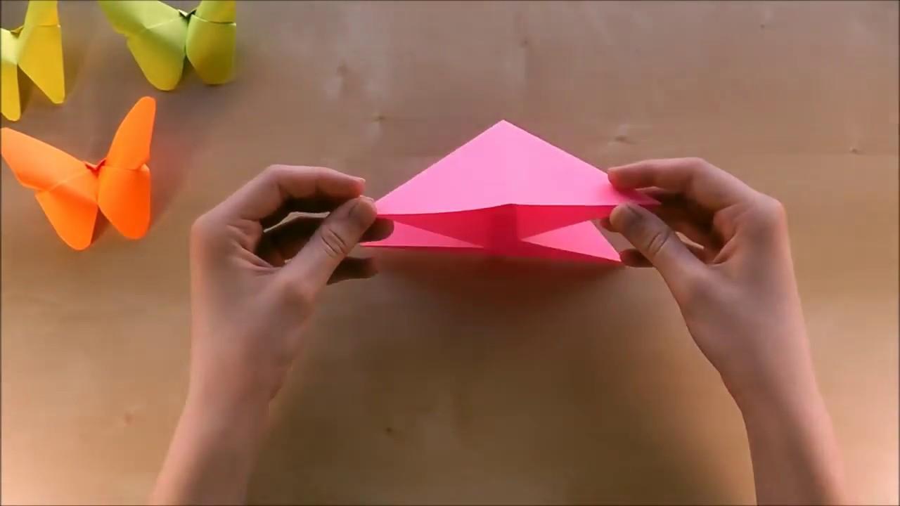 Comment Faire Un Papillon En Papier Bricolage En Papier Facile