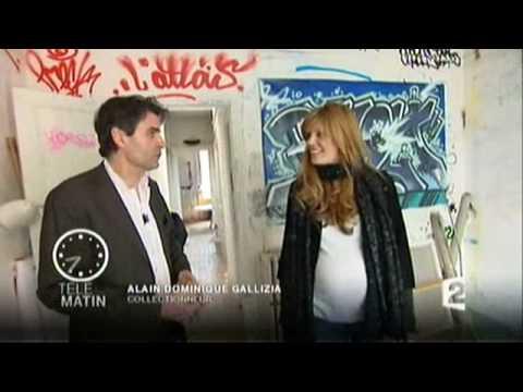 Alain-Dominique Gallizia - Le graff, tout un art - Télé Matin, 28 avril 2010