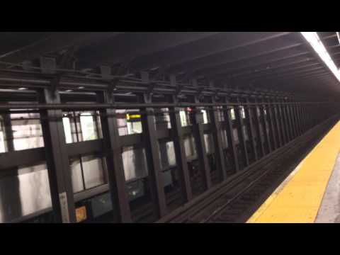 IRT EASTERN Parkway line:R142 & R62 (3) (4) (5) trains @Franklin ave