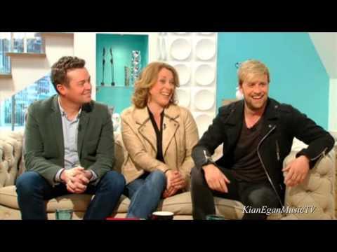 Kian Egan - Chat on ITV Weekend [ May 10, 2014 ]